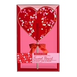 Giant Confetti Heart Lollipops: 3 Kraft Gift Sets