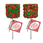 Giant Holiday Confetti Marshmallows: 12 Pack