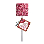 Giant Valentine Nonpareil Marshmallows: 12 Pack