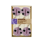 Blueberry & Acai Gourmet Lollipops: 3 Kraft Gift Sets