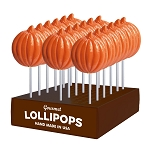 Harvest Pumpkin Lollipops: 24 Pack Display