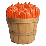 Harvest Pumpkin Lollipops: 30 Pack Basket