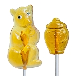 Honey Bear & Honey Pot Lollipop Assortment: 24 Pack