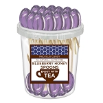 Blueberry Honey Spoons: 30 Pack Bucket