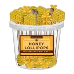 Honey Hive Lollipop Assortment: 30 Pack Bucket