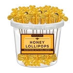 Honey Bee Lollipops: 30 Pack Bucket