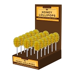 Honey Dipper Lollipops: 24 Pack Display