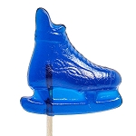 Ice Skate Lollipops: 24 Pack