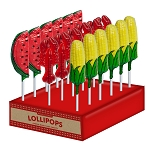 Lobster BBQ Lollipop Assortment: 24 Pack Display