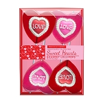 Love Lace Iced Lollipops: 3 Kraft Gift Sets