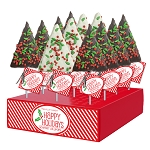 Holiday Confetti Crispy Rice Trees: 12 Pack display