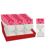 Heart Marshmallow Toppers: (18) 2 Pack Caddy