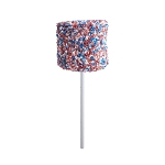 Giant Patriotic Crystalz Marshmallows: 12 Pack