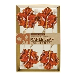 Kosher Maple Leaf Lollipops: 3 Kraft Gift Sets