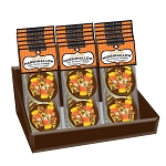 Halloween milk chocolate Marshmallow Toppers: (18) 2 Pack Caddy