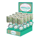 Giant Pastel Nonpareil Marshmallows: 12 Pack Display
