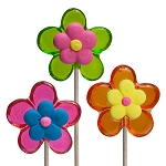Royal Iced Spring Flower Lollipops: 12 Pack