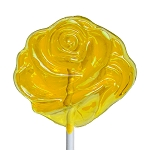 Friendship Yellow Rose Lollipops: 12 Pack