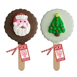Holiday Royal Iced Cookie Pops: 12 Pack