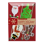 Sweet Holiday Lollipop Assortment: 3 Kraft Gift Sets