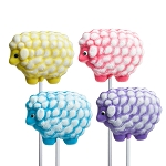 Spring Sheep Lollipops: 12 Pack
