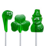 Saint Patrick's Day Lollipop Assortment: 24 Pack