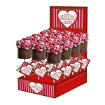 Large Sweetheart Marshmallow Cupcakes: 18 Pack Display