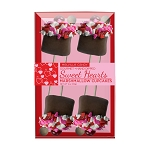Small Sweetheart Marshmallow Cupcakes: 3 Kraft Gift Sets