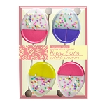 White Chocolate Dipped Confetti Egg Lollipops: 3 Chip Gift Sets