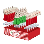 Chocolate Dipped Peppermint Lollipop Assortment: 12 Pack Small Display