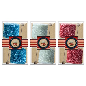 Giant Red, White & Blue Crystalz Marshmallows: 3 Acetate Gift Sets