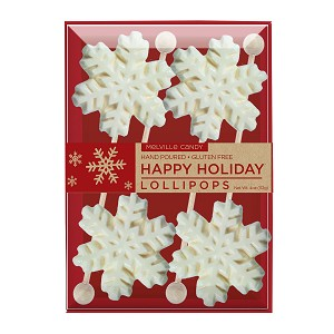 Snowflake Lollipops: 3 Kraft Gift Sets