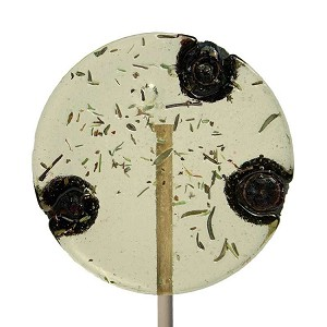 Blueberry & Thyme Natural Lollipops: 24 Pack