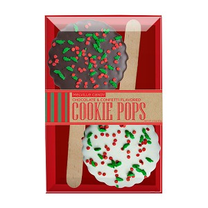 Holiday Confetti Cookie Pops: 3 Kraft Gift Sets