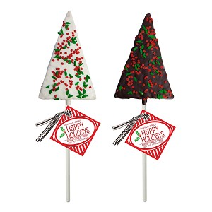 Holiday Confetti Crispy Rice Trees: 12 Pack