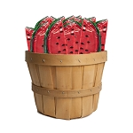 Watermelon Lollipop: 30 Pack Basket