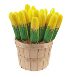 Harvest Corn Lollipop Bushel Basket</br>Pack 30