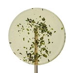 Cilantro & Lime Natural Lollipops: 12 Pack