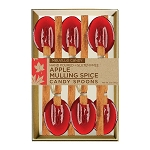 Apple Mulling Spice Cinnamon Spoons: (3) 6PK KRAFT GIFT SETS