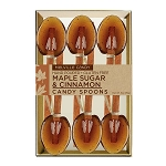 Maple Cinnamon Spoons:  (3) 6PK KRAFT GIFT SETS