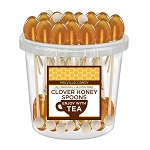 Kosher Clover Honey Spoons: 50 Pack Bucket