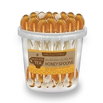 Clover Honey Spoons</br>50 Pack Bucket