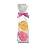Marshmallow Confetti Egg Toppers: (12) 2PK GUSSET BAG
