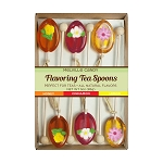 Flower Honey Spoons:  (3) 6PK KRAFT GIFT SETS