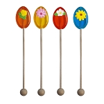 Flower Honey Spoons: 12 Pack