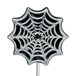 Frosted Spider Web Lollipops: 24 Pack