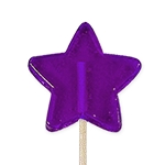 Mini Star Lollipops: 24 Pack