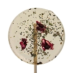 Basil & Pomegranate Natural Lollipops: 12 Pack