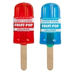 Patriotic Fruit-Pop Lollipops: 12 Pack