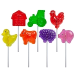 Farm Lollipop Assortment: 12 Pack
